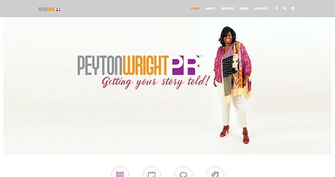 Peyton Wright PR | Website Home